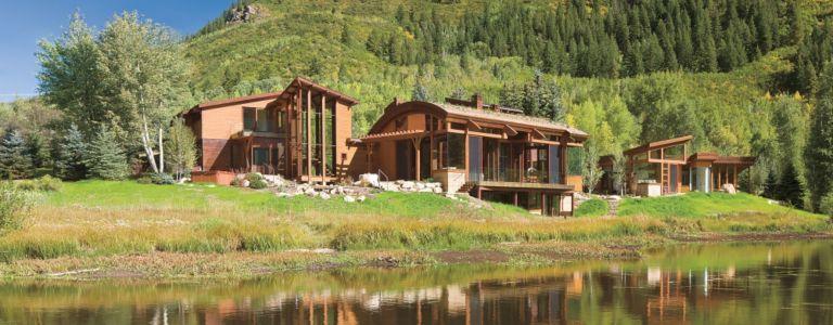Organic Mountain Aspen Home