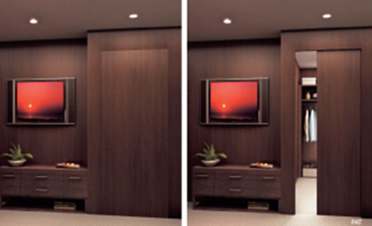 Fleetwood Pacific luxury aluminum hinged door, Miami Dade impact approved  to 96