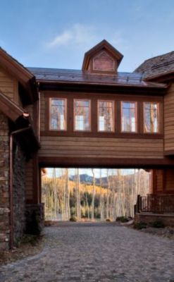 whitehill telluride colorado exterior bridge connecting main house rh luxesource com Residential Electrical Wiring Diagrams Typical House Wiring Circuits