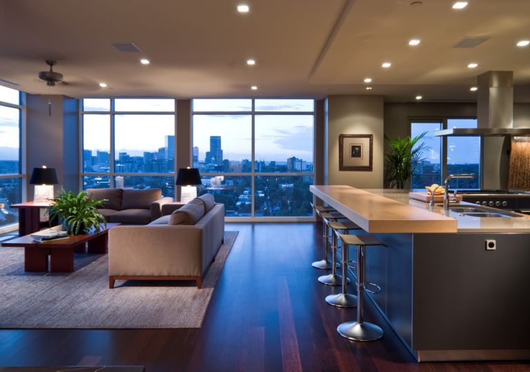 Open floor plan by bulthaup denver luxesource luxe magazine
