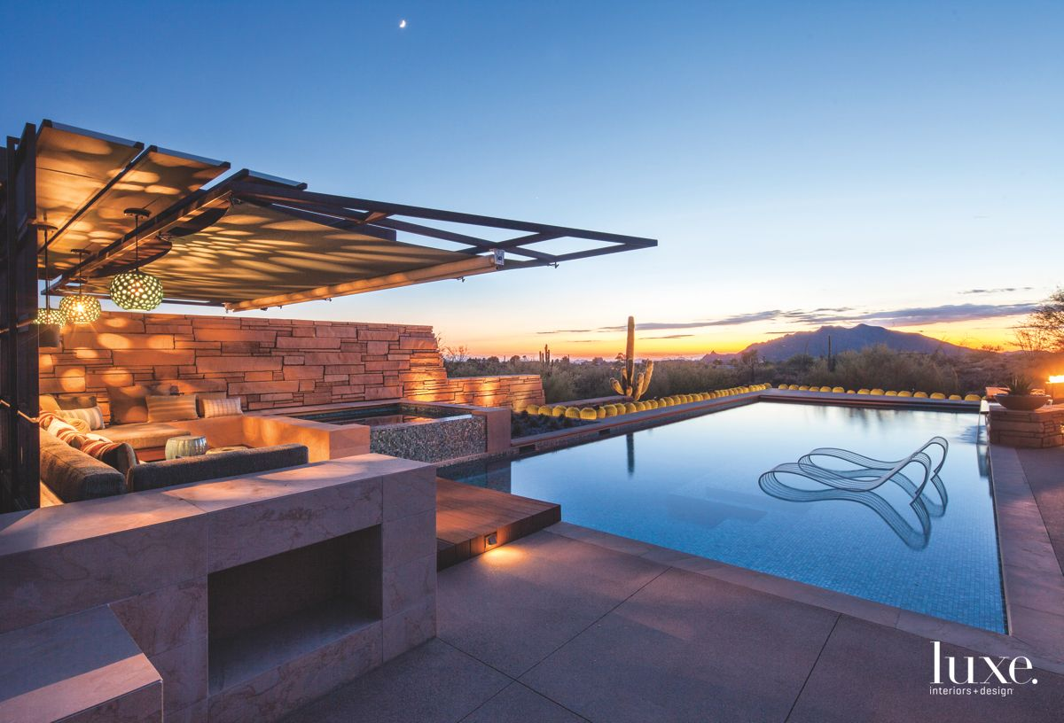 Wow Factor Sunset Cabana with Pool