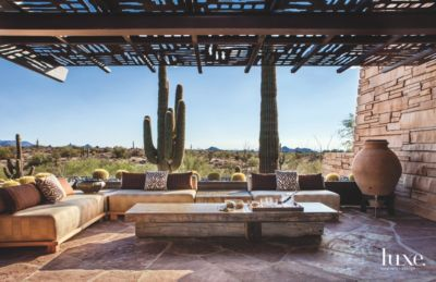 Outdoor Meets Indoor At A Dreamy Arizona Family Compound