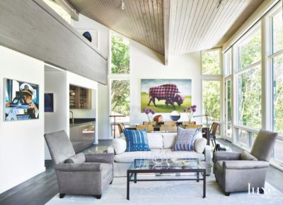 Playful Art Pieces Are The Focus Of This Aspen Home