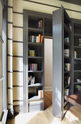 10 Secret Doors Hidden Compartments and more. | Features - Design Insight from the Editors of Luxe Interiors + Design & 10 Secret Doors Hidden Compartments and more. | Features - Design ...