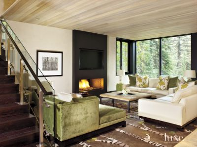 A Contemporary Vail Home With Midcentury Modern Architecture | Features    Design Insight From The Editors Of Luxe Interiors + Design