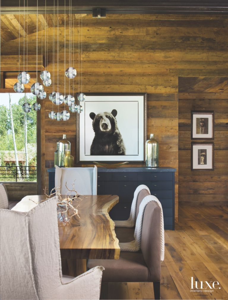 Snowm Vacation Home With Bear Photograph