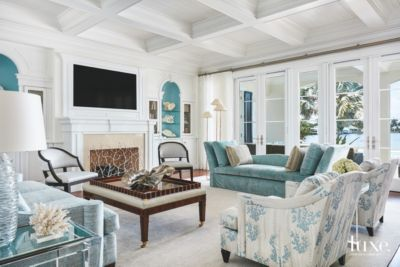Casual Elegance In Palm Beach | Features   Design Insight From The Editors  Of Luxe Interiors + Design