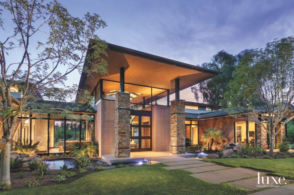 Modern Master of Stone, Steel, and Cedar | Features - Design Insight ...