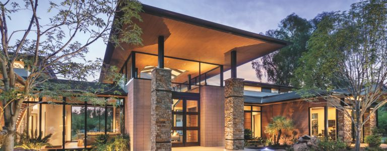 Modern Master of Stone, Steel, and Cedar   Features - Design Insight ...
