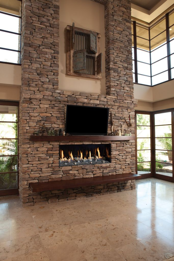 designer fireplace the by fireplaces davinci projects linear sided single custom place