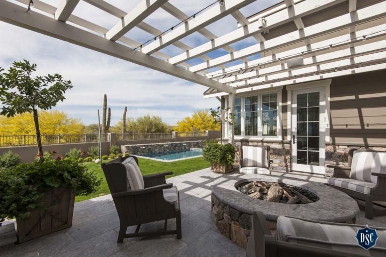 Outdoor Patio Craftsman Home Luxesource Luxe Magazine The