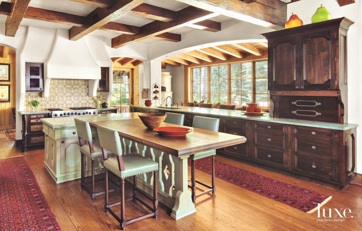 Redesigned Kitchen with Subtle Bronze Accents