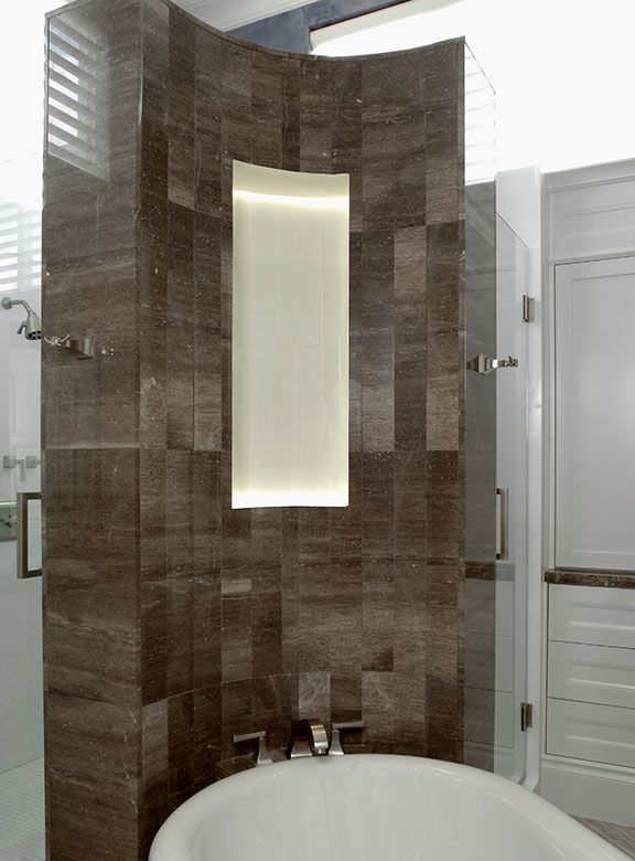 White Bathroom By Just Tile Marble