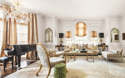 Classic, Modern And Art Deco Styles Merge In A Glamorous Dallas Manor