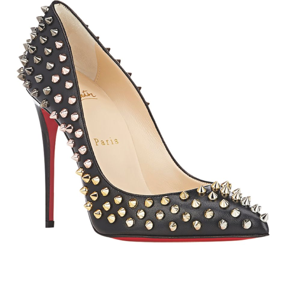 save off da644 3f3f8 Follies Spikes Pumps by Christian Louboutin - Luxe Interiors ...