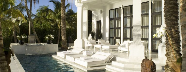 Art Deco Inspired Midcentury Modern Miami Home