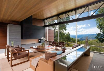 Delightful Modern Vail Valley Home With Glass Bridge