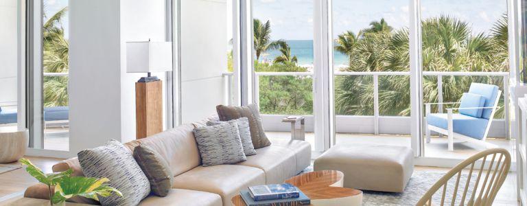 Modern Shorefront Miami Beach Condo