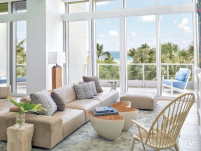 Modern, Shorefront Miami Beach Condo