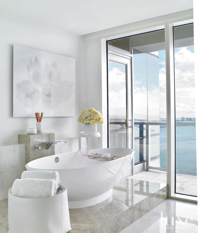 Neutral Modern Master Bathroom
