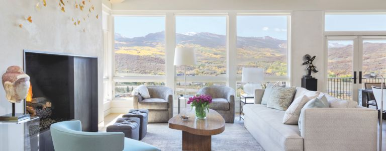 This Aspen Abode Is Filled With Touches That Add Warmth And Texture