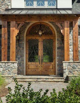 Clark Hall Doors & Front Entrance by Clark Hall Doors | LuxeSource | Luxe Magazine ...
