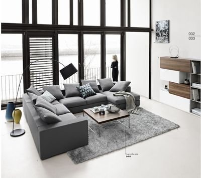 White Living Room, BoConcept Miami