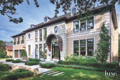 Peek Inside A Chicago Art Deco Home With Gold Touches