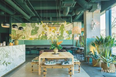 Home Decor with Jungle Flair Features Design Insight from the