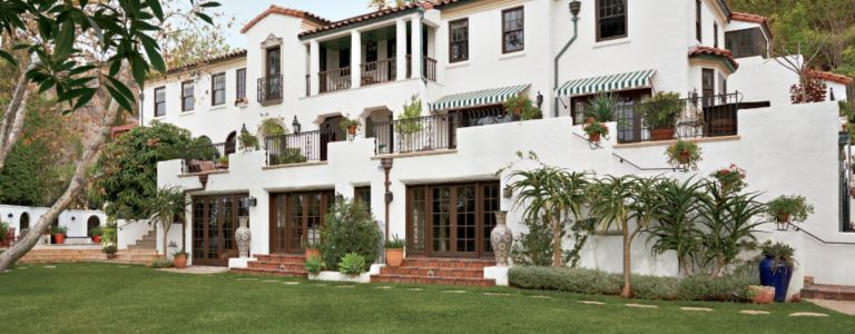 A 1920s Mediterranean Los Angeles Home with Original Architectural ...