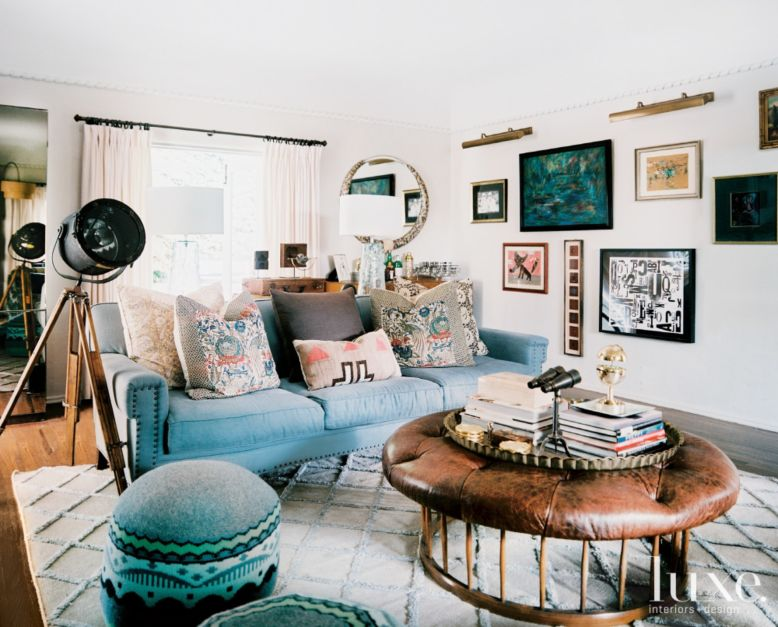 Hollywood Regency Style Living Room