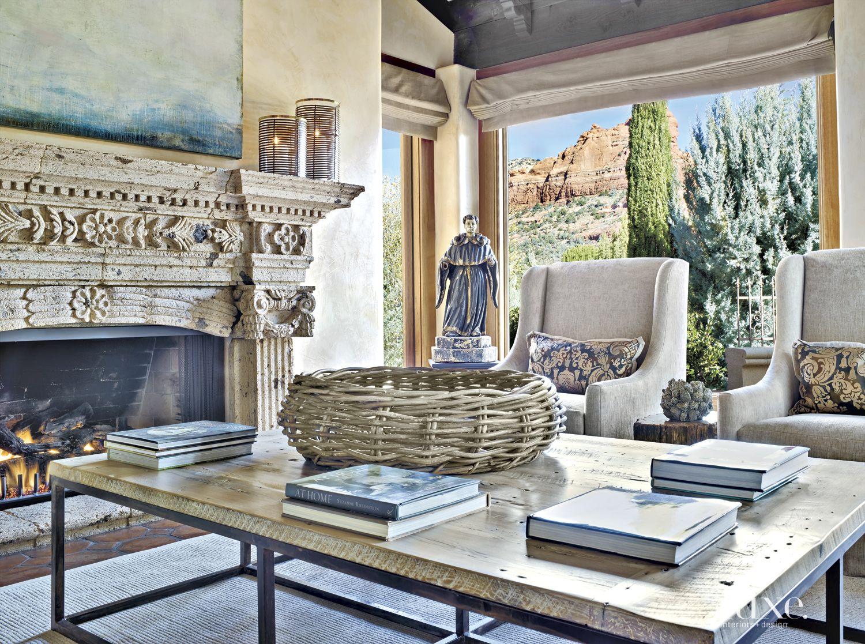 Mediterranean Cream Living Room Armchairs