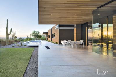 A Midcentury Modern Paradise Valley Home Boasts A Minimalist Aesthetic |  Features   Design Insight From The Editors Of Luxe Interiors + Design