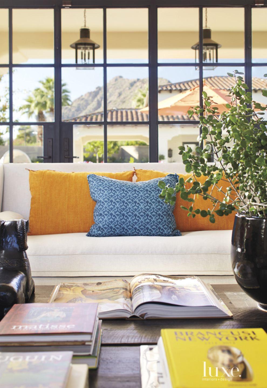Mediterranean Living Room Sofa