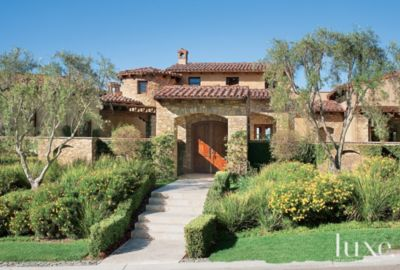 Transitional Tuscan Style Rancho Santa Fe Home