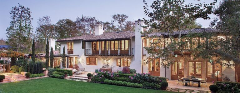A Classic Spanish Colonial Style House