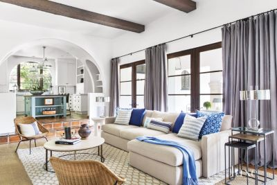 A Spanish ColonialStyle Beverly Hills Home with Fashionable
