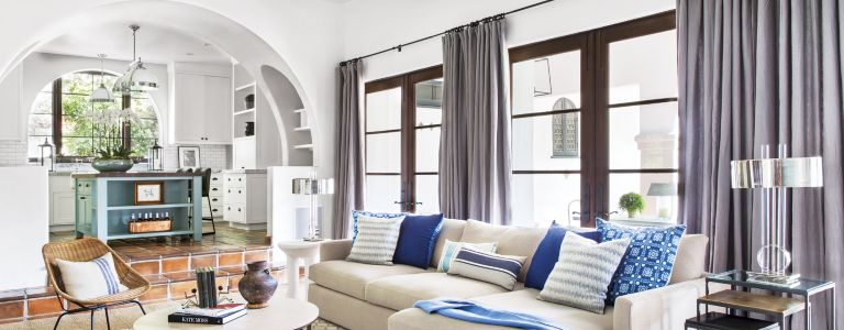 A Spanish Colonial-Style Beverly Hills Home with Fashionable Interiors | Features - Design Insight from the Editors of Luxe Interiors + Design