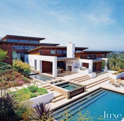 Superior A Hillside Cedar Clad Rancho Santa Fe Home Part 29
