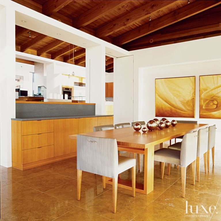 Modern White Dining Room Buffet Luxe Interiors Design - Dining-room-buffet-property