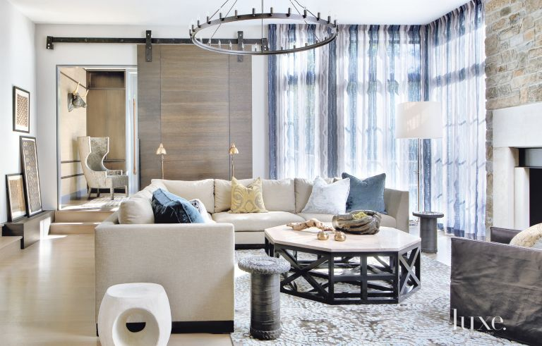 Contemporary Home with Bold Eclectic Furnishings | LuxeSource | Luxe ...