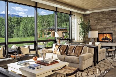 Elegant A Transitional Vail Valley Mountain Retreat