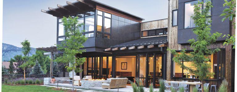 Location  Colorado  Tour this HouseA Contemporary Boulder Home with Geometric Inspiration   Features  . Ranch House Interior Design Boulder Co. Home Design Ideas