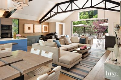 A Contemporary Aspen Home with an Open LoftLike Feel Features