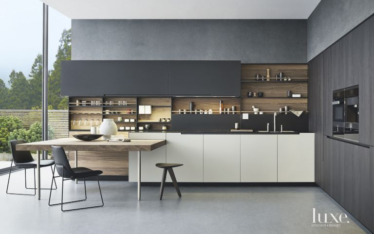 Poliform Kitchen Design. Related Designs The New Modern Kitchen  Luxe Interiors Design