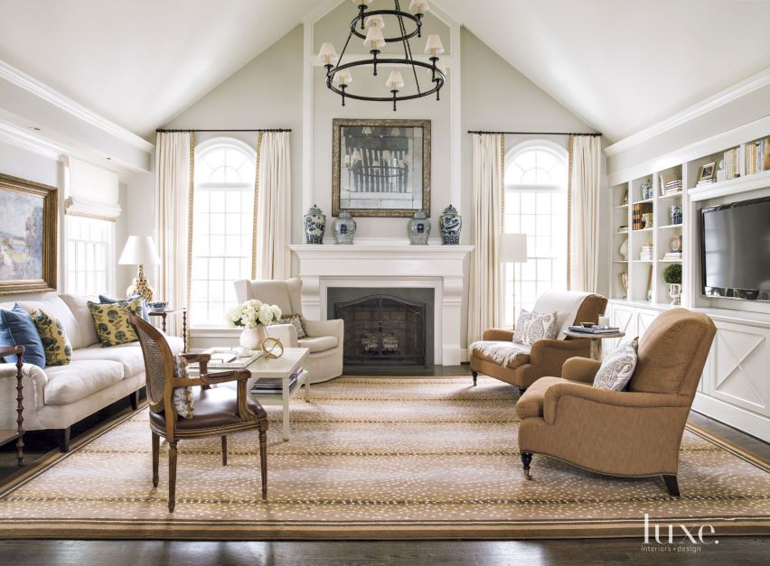 A Renovated Cape Cod Style Home In Maryland Features Design Insight From The Editors Of Luxe
