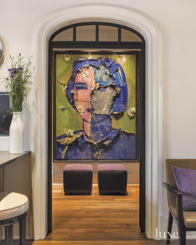 Transitional Hallway Artwork