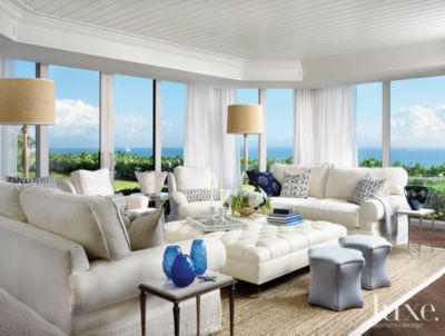 A Contemporary Palm Beach Condo with Soft Clean Lines Features
