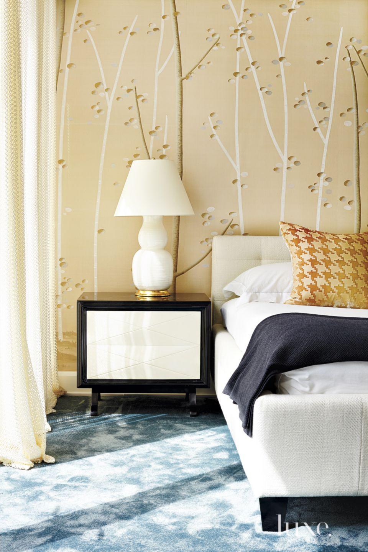 Modern Gold Master Bedroom