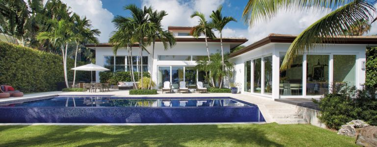 Contemporary Brazilian Miami Beach Home With